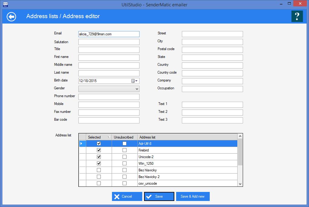 Bulk email sender for windows | SenderMatic